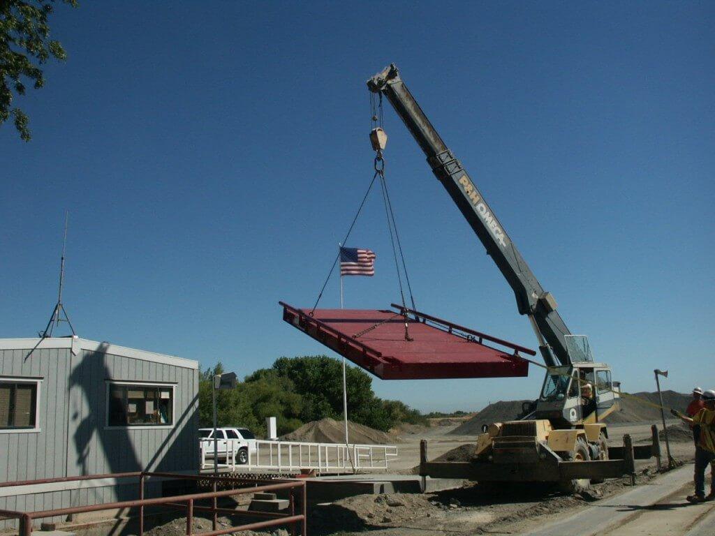 truck scale installation california