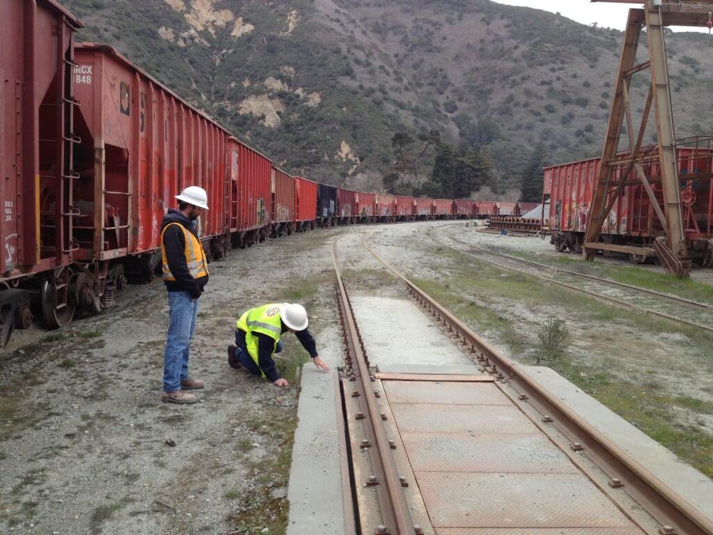 rail scale installation CA