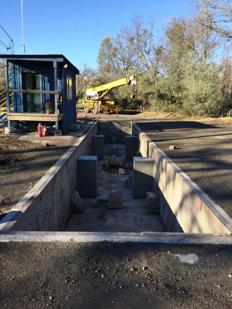Steel Deck Truck Scale Installed In Sonora Qsu