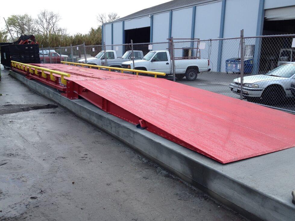 Truck Scale Ramp